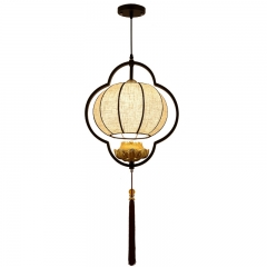 OOVOV Chinese Style Small Pendant Lights-Dining Room,Balcony,Aisle,Stairs Pendant Lamps Chandeliers